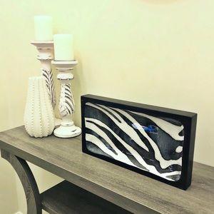 Eightmood Zeewild Zebra Print Tray